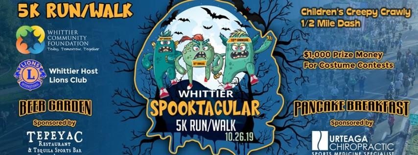 Whittier Spooktacular 5K Run/Walk
