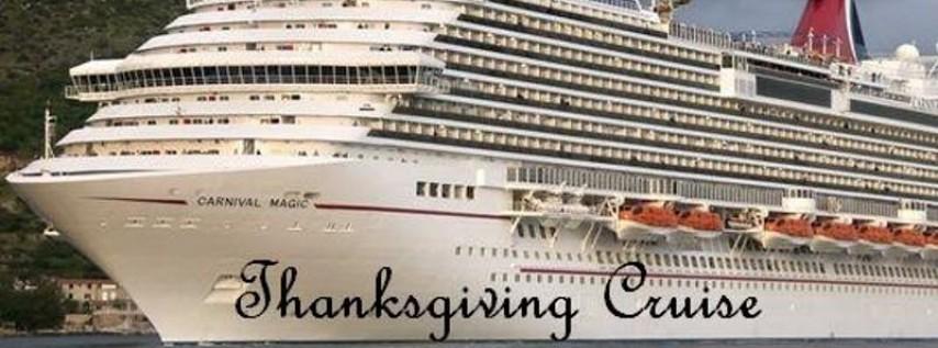 Thanksgiving at Sea Carnival Cruise 2019