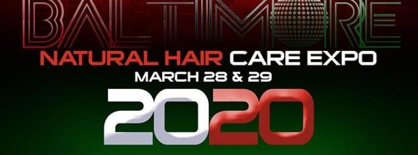 Baltimore Natural Hair Care Expo 2020