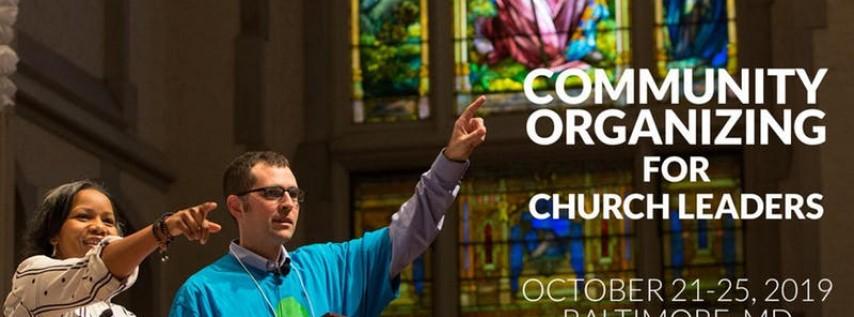 2019 Community Organizing and Congregational Development Training