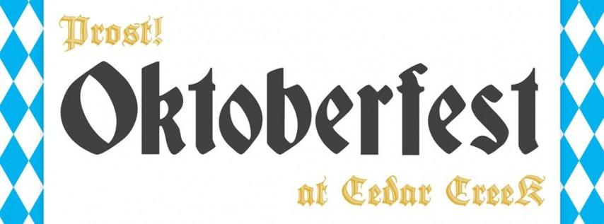 Oktoberfest at Cedar Creek