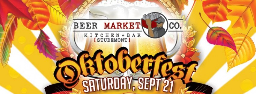 Oktoberfest at Beer Market Studemont
