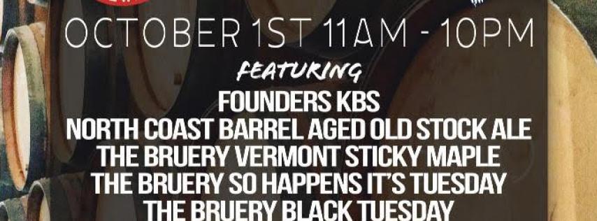 Barrel Aged Day at Bier Boutique!