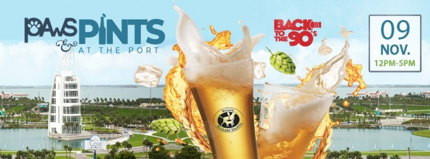 Paws & Pints at the Port