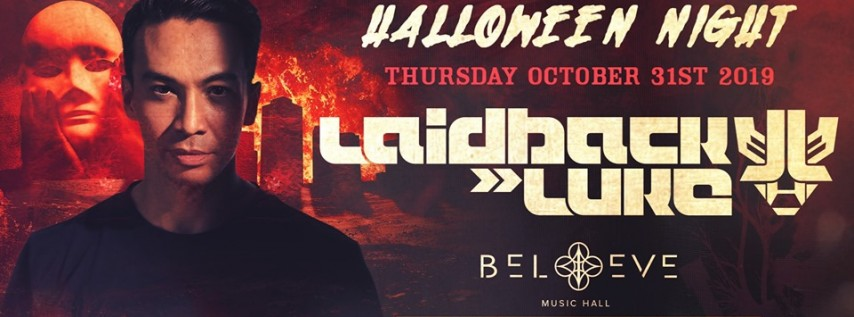 Laidback Luke | IRIS Presents HALLOWEEN | Thursday October 31
