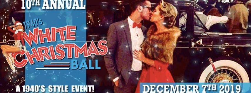 10th Anniversary 1940s White Christmas Ball