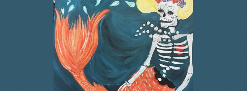 Dia de Los Muertos Sirena