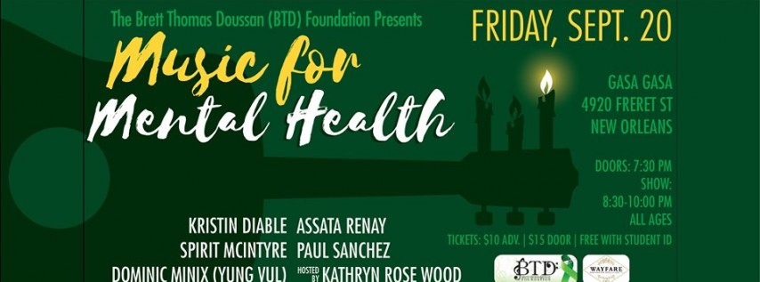 3rd Annual Music for Mental Health Benefit Concert
