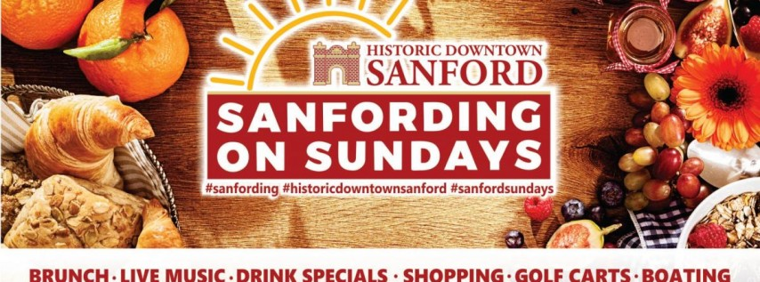 Sanfording on Sundays in Beautiful Historic Downtown Sanford