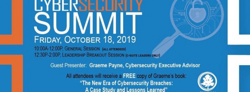 Fulton County Government, Information Technology Cyber Security Summit '19
