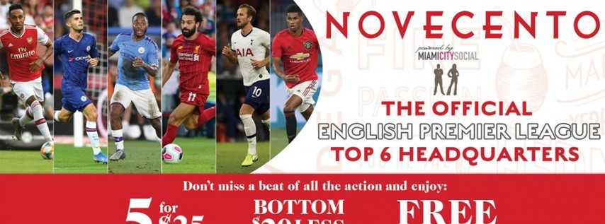 Premier League Watch Party: Manchester United vs Arsenal