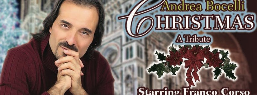 An Andrea Bocelli Christmas Tribute