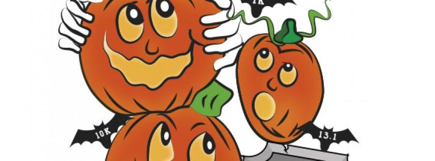 Halloween Pumpkin Run ( The Happy Pumkins)13.1/10k/5k/1k