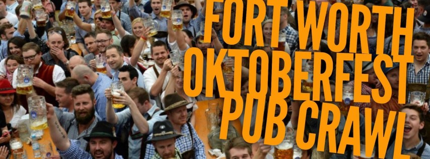 Fort Worth Oktoberfest Pub Crawl