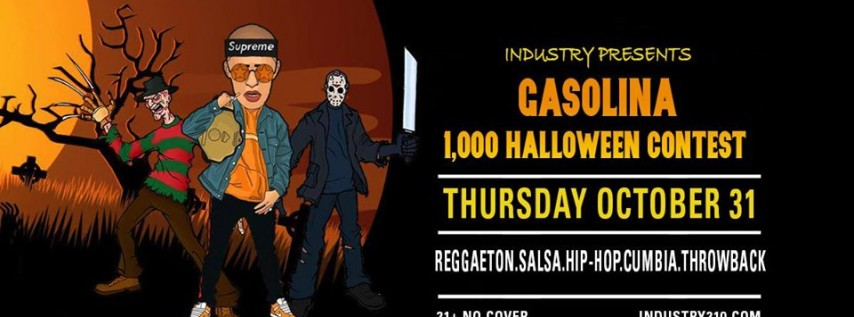 Gasolina Thursday Edition 1,000 Halloween Contest