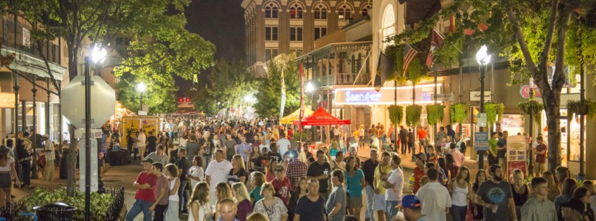 Gallery Night in Downtown Pensacola