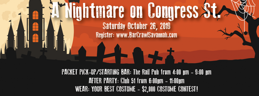 A Nightmare on Congress Street VII ~ Halloween Bar Crawl