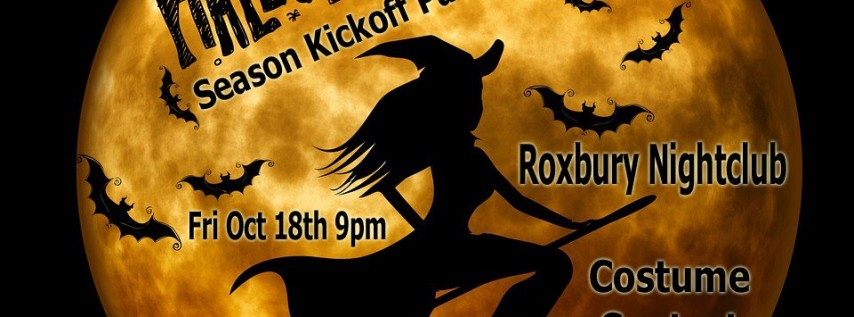 Halloween Kickoff Party Roxbury Nightclub