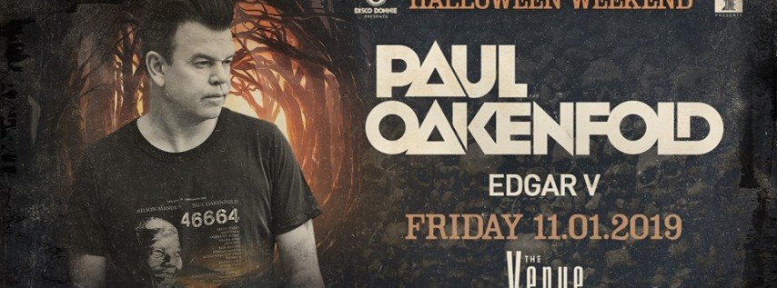 Paul Oakenfold Halloween Weekend