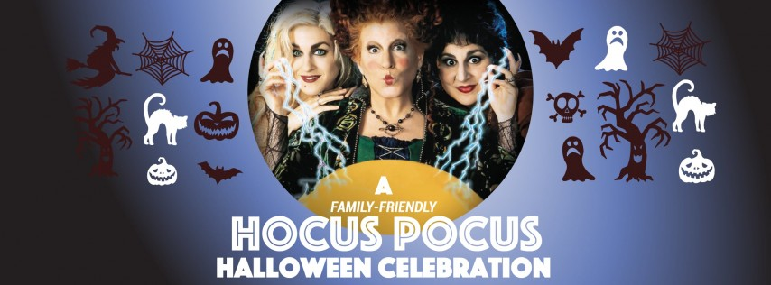 A FREE Hocus Pocus Halloween Celebration