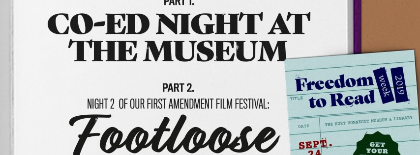 Co-Ed Night at the Museum + Footloose @ KVML Freedom to Read Week