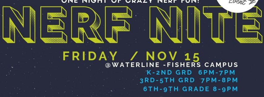 Nerf Night at Waterline Church