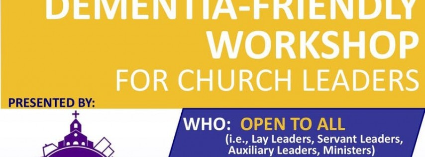 Dementia-Friendly Workshop for Church Leaders