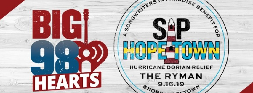 SIP Hope 4 Hope Town at the Ryman