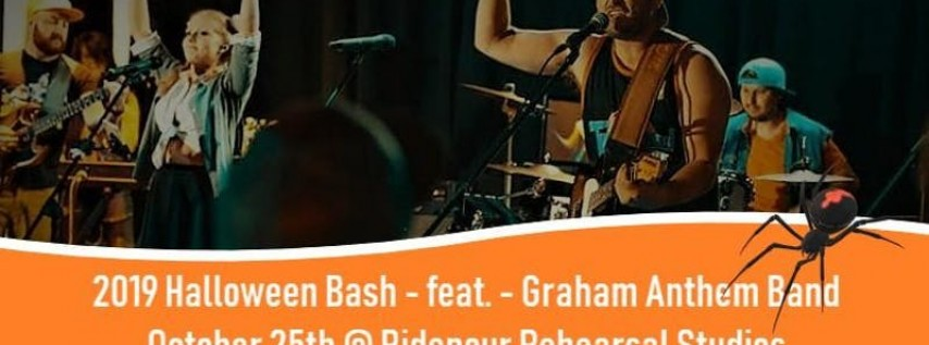 Halloween Bash 2019 - Featuring - The Graham Anthem Band