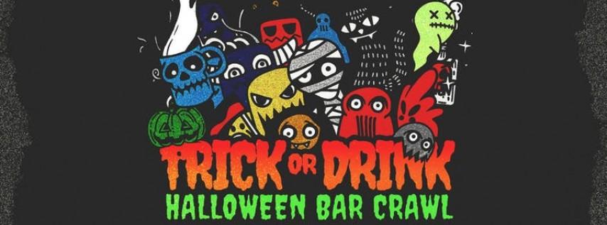 Trick or Drink: Nashville Halloween Bar Crawl (2 Days)