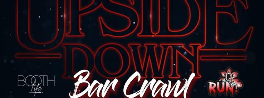 Upside Down Bar Crawl a Stranger Things inspired Halloween Event Nashville