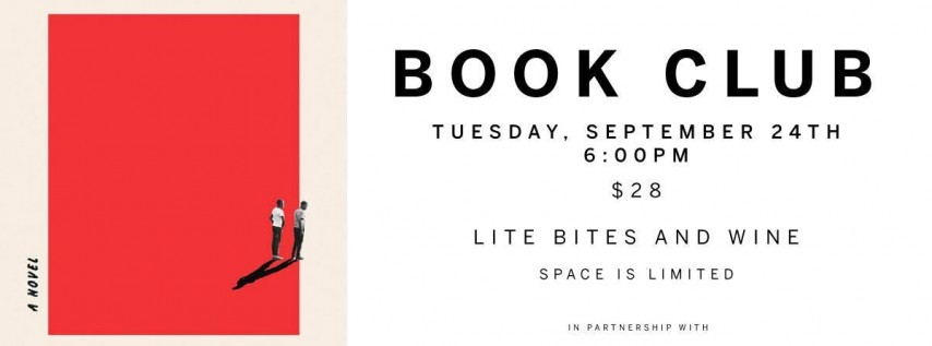 Armature Works Book Club - September 24th
