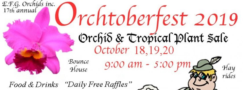 17th Annual Orchtoberfest 2019