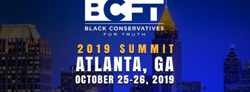 2019 Black Conservatives Summit - Atlanta