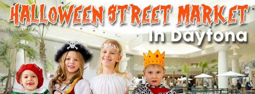 Halloween Street Market in Daytona