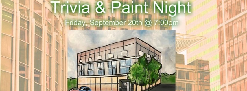 Don't spill the paint. Paper Company Trivia!