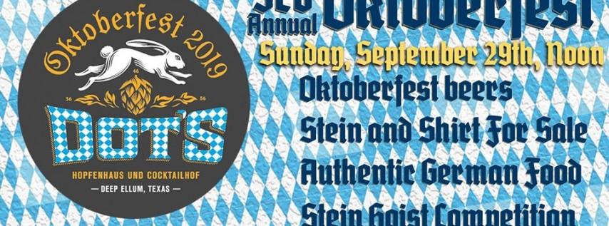 Dot's Hop House 3rd Annual Oktoberfest
