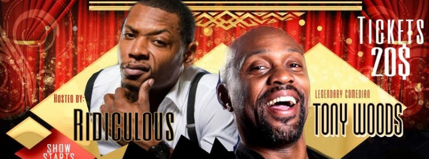 Uproar At The Improv with Tony Woods of Def Comedy Jam