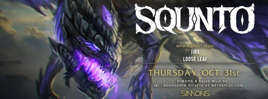 We The Plug Presents: SQUNTO - Halloween Party at Simons 10.31.19
