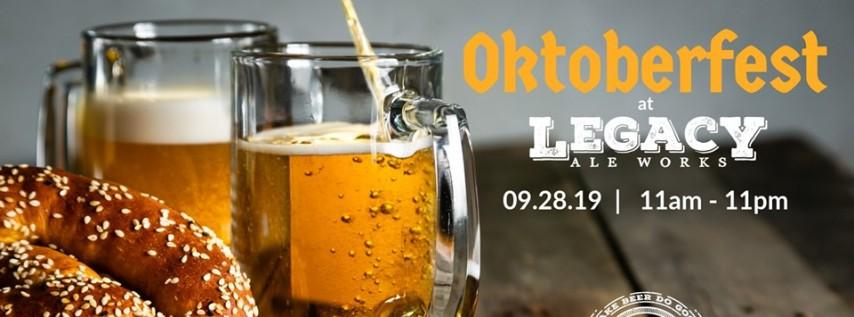 Prost! Oktoberfest at Legacy Ale Works