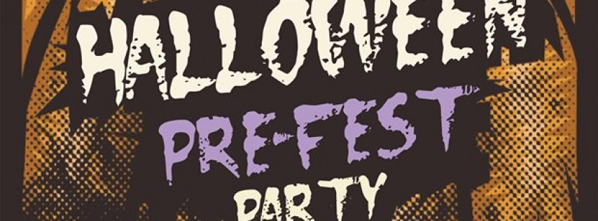 Halloween PreFEST Party at rain dogs - 9 Bands!