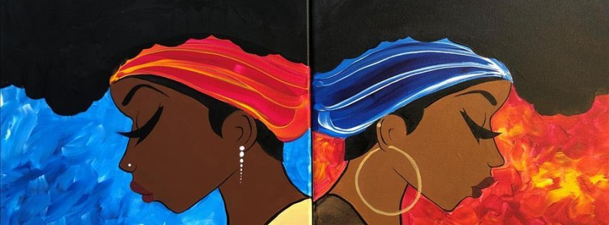 Fire and Ice: My Sister's Keeper- Paint one- Painting with a Twist