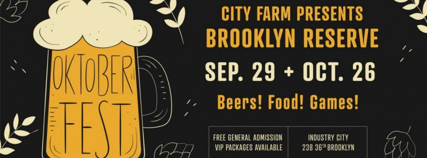 Brooklyn Reserve: Oktoberfest