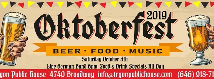 Oktoberfest 2019: Live German Band, German Beer + Food Specials