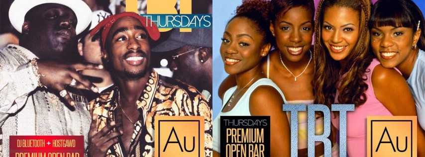 TBT Thursdays: Dusse, Titos & Jameson OPEN BAR Throwback Music Party @Aurum