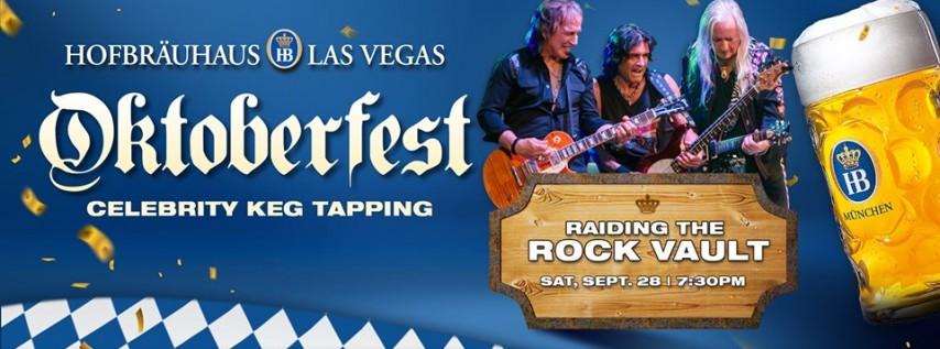 Oktoberfest Keg Tapping with Raiding the Rock Vault!