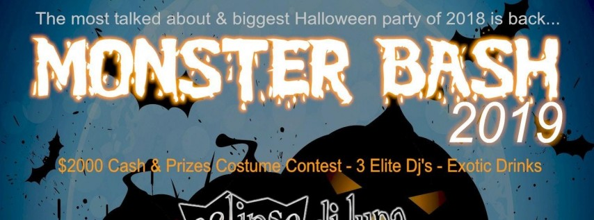 MONSTER BASH 2019 - Halloween Party