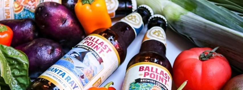 Ballast Point Beer Pairing Dinner