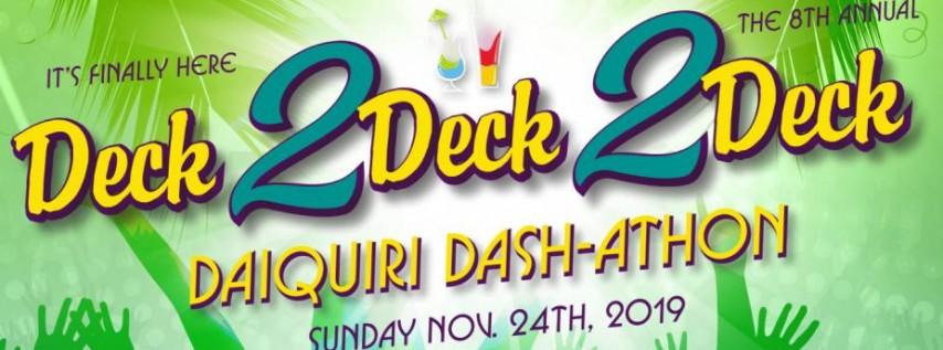 Deck2Deck2Deck Daiquiri Dash-athon