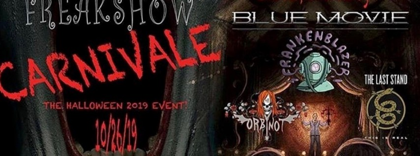 Freakshow:Carnivale, 2019 Halloween Event